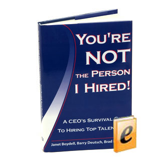 Download our book for FREE - You're NOT the Person I Hired