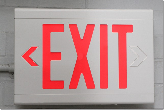 Your talent is heading for the exit sign - retain them now