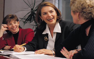 Image of a hiring manager using our 5-core Question Interview to conduct a candidate interview