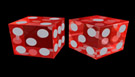 Image of dice being rolled representing at best the 50% probability of success of most hiring processes