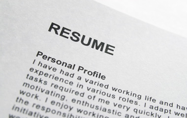 Image of a traditional resume that is worthless as tool in an effective job search