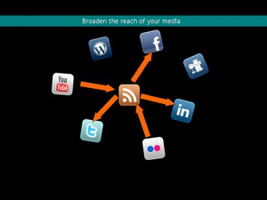 Social Media Buttons to Share Outstanding Information