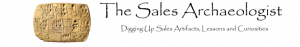 The Sales Archaeologist Blog 300x47 Do You Challenge Your Sales Team To Keep it Fresh?