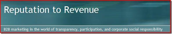 Reputation to Revenue Blog